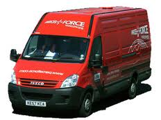 Parcelforce nationwide delivery service