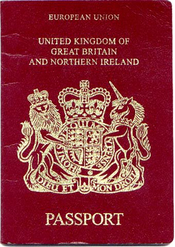 A passport is an acceptable form of ID for radio hire