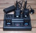 Compact 6-slot walkie-talkie charger